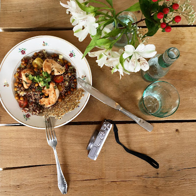 Marcelle / Healthy food / Blog Atelier rue verte / Quinoa /
