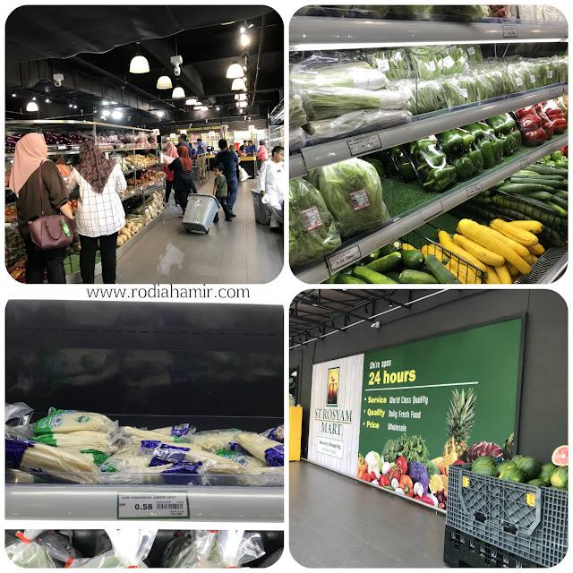 ST Rosyam Mart Sdn Bhd Sayur murah