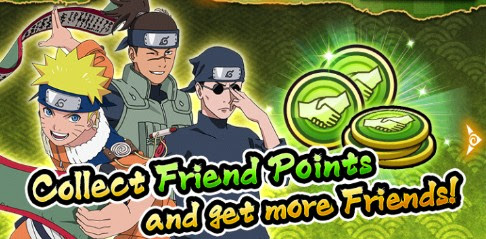NARUTO: Ultimate Ninja Blazing - Friend Points