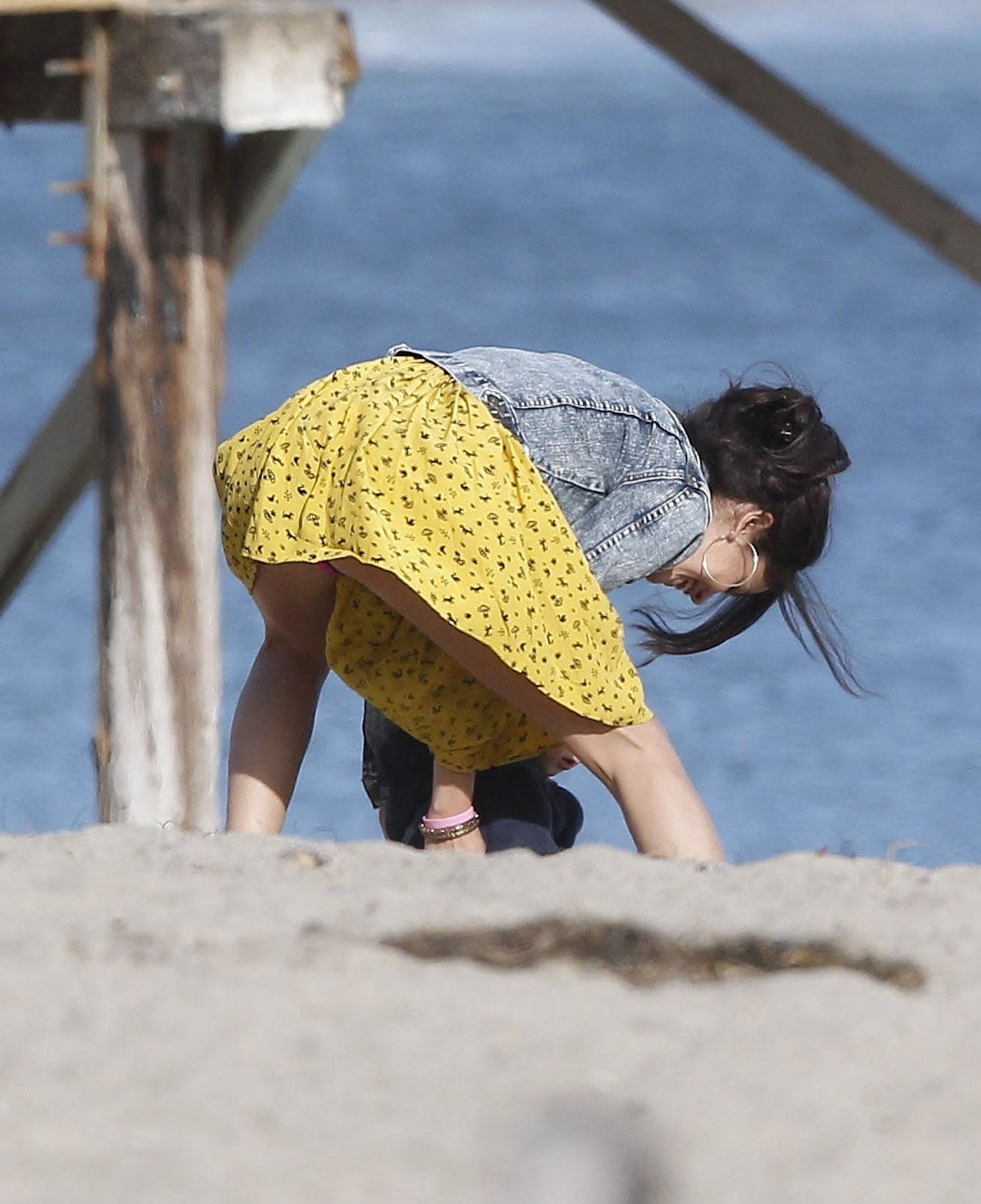 What Selena gomez beach upskirt excellent message