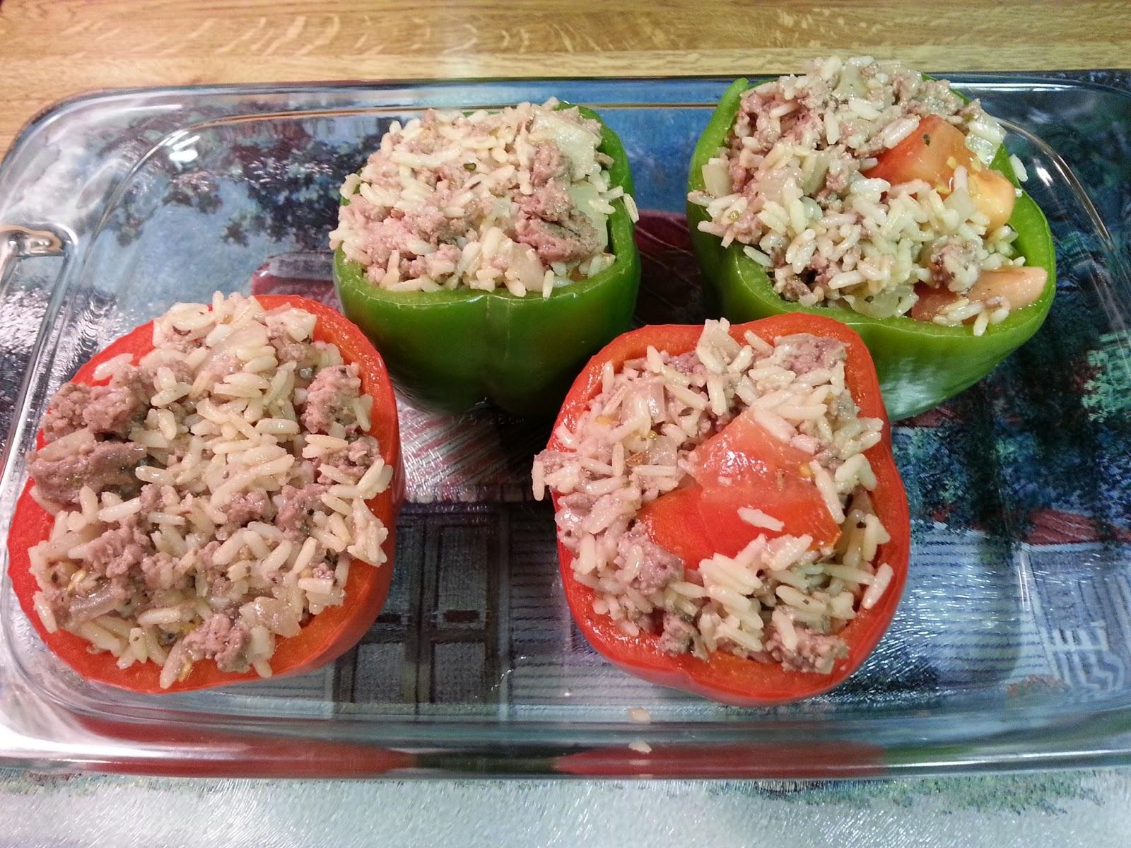 Original Recipe: Dads Stuffed Bell Peppers