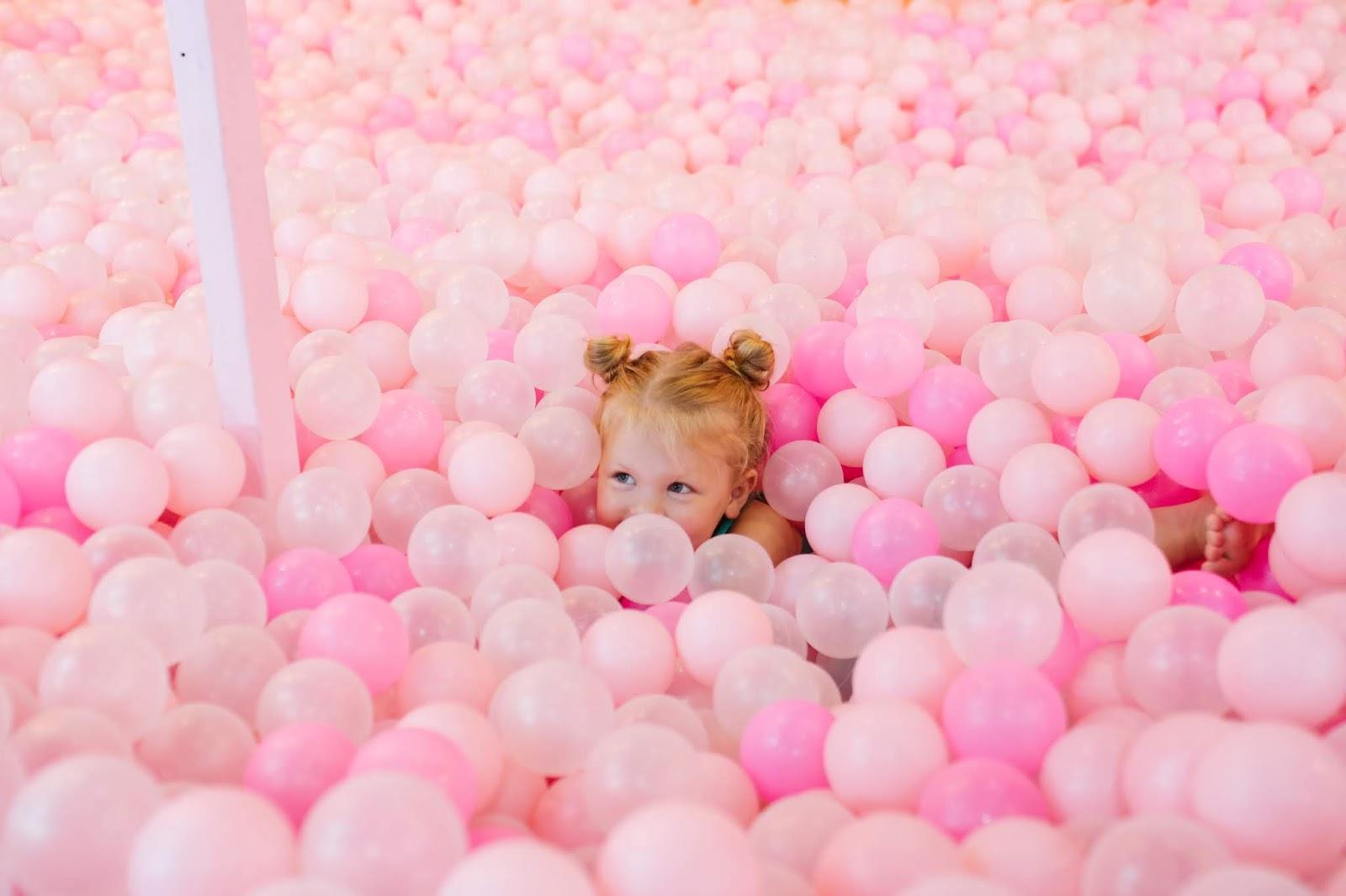 Toddler Hair, Ball Pit