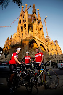 Cycling Sagrada Familia