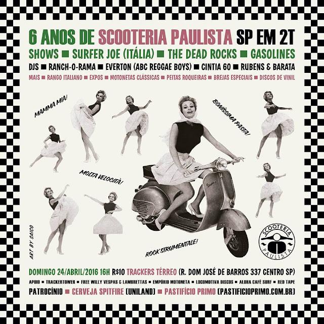 SP EM 2T - 06 Anos da Scooteria - Nesse domingo 24/04