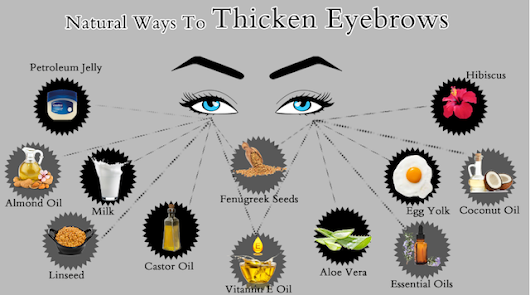 5 Proven Ways To Get Thick Eyebrows Naturally