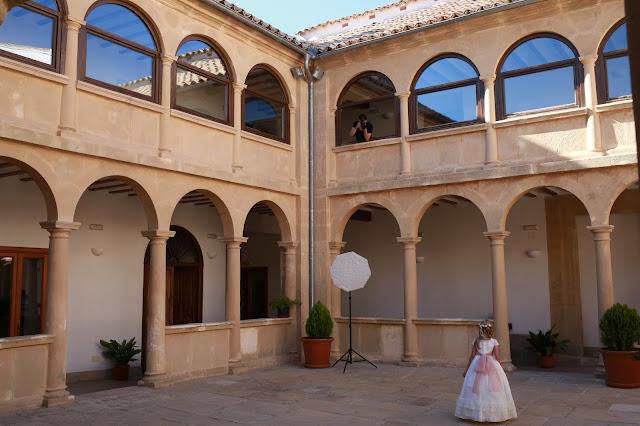El convento de Carmelitas Descalzas de Sabiote en Jaén, Andalucía (España)