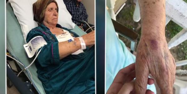 Χτύπησαν με όπλο ηλεκτροσόκ γυναίκα που μάζευε χόρτα! σύντομα και στην χώρα σου - τίποτα δεν θα ειναι τσάμπα!
