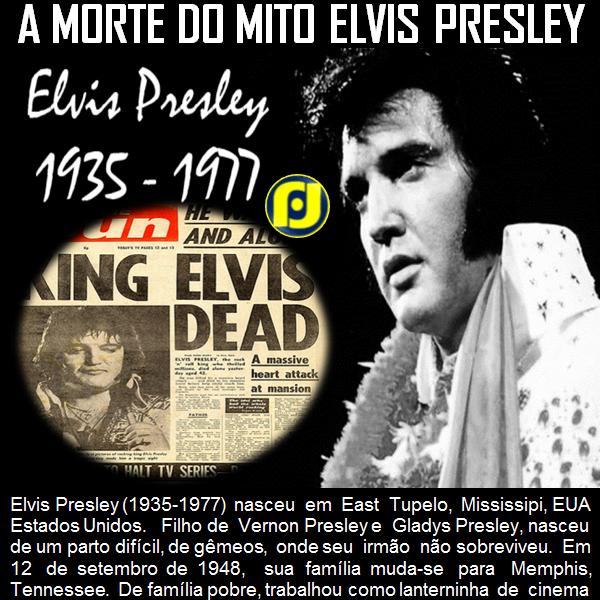 A morte de Elvis Presley