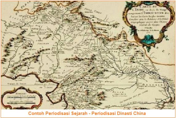 Periodisasi Dinasti China - Contoh Periodisasi Sejarah