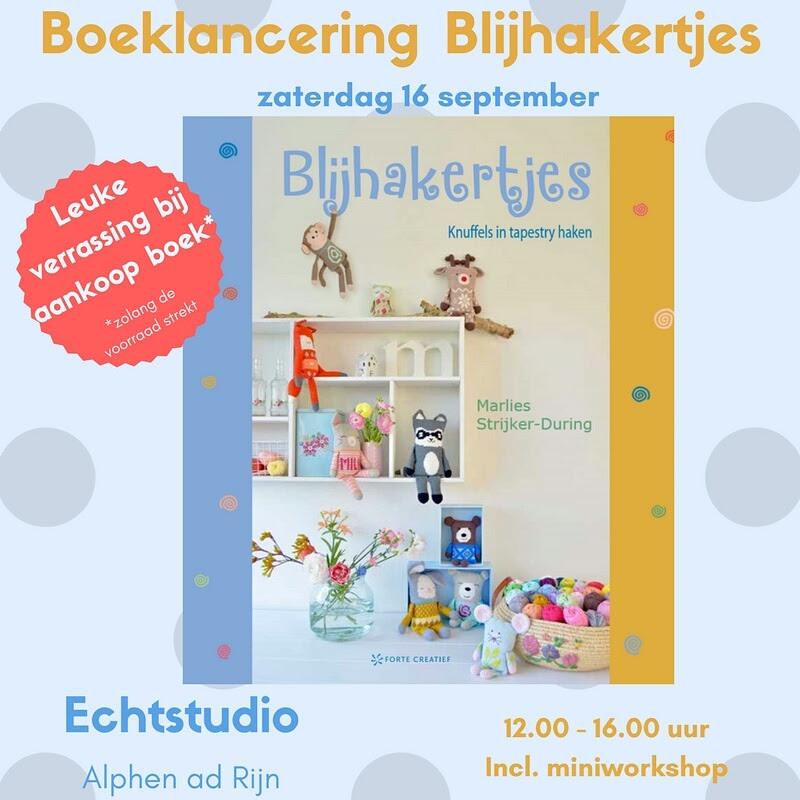 Madebyleen Blog Over Haken Crochet Blog Boekfeestje Blijhakertjes