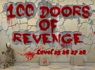 100 Doors of Revenge Level 25 26 27 28 Walkthrough