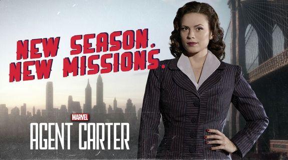 Agent Carter - 2x01 y 2x02