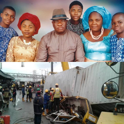 Wife-of-RCCG-Pastor-Crushed-By-A-Container-Along-With-Two-Kids-Asks-Heartbreaking-Question