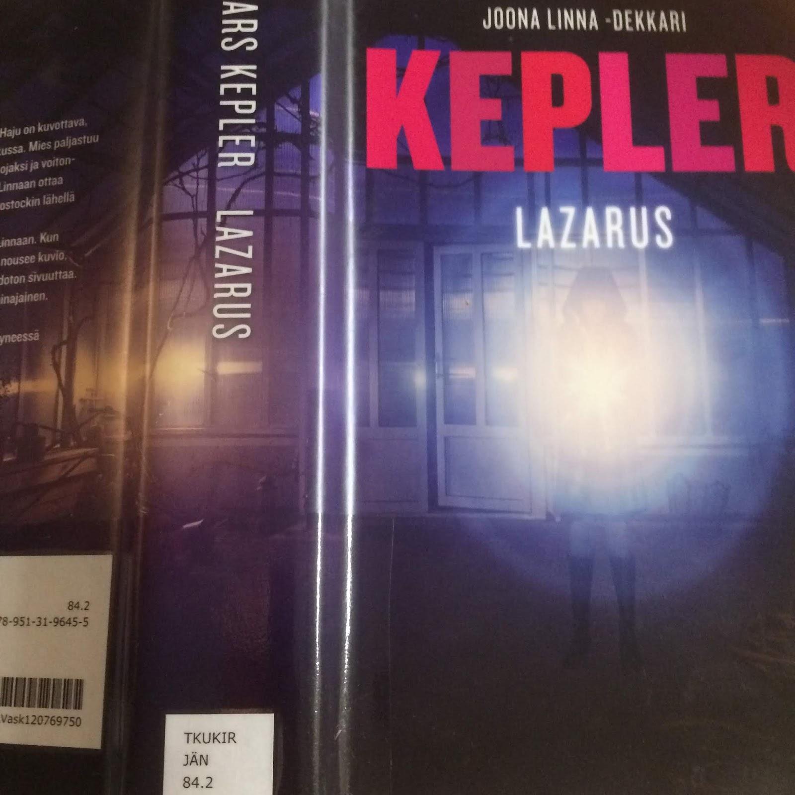 Lars Kepler Kirjat