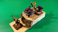 WIP - Scenic base for the Cauldron of Blood (w. models)