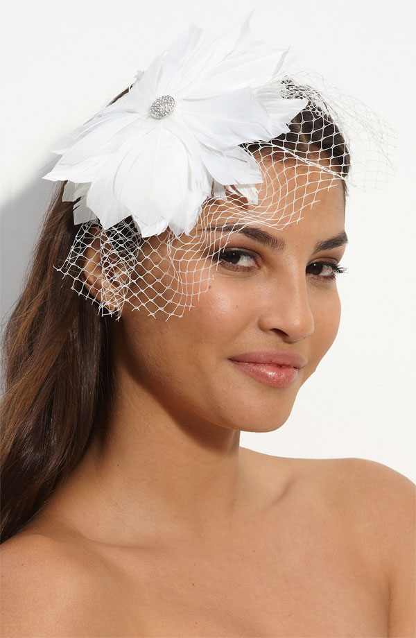 From Body To Soul Headband Or Birdcage Veil