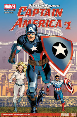 Marvel's Captain America: Steve Rogers Issue #1 Cover Artwork by Jesus Saiz