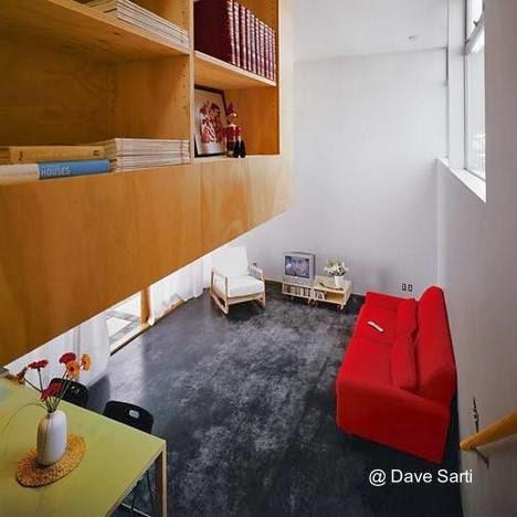 Interior de la casa pequeña estilo Contemporáneo
