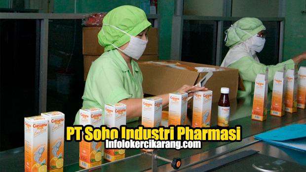 Lowongan Kerja PT Sоhо Induѕtrі Pharmasi Pulogadung