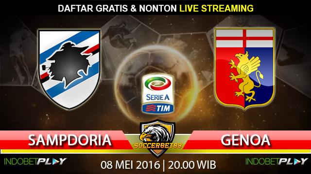 Prediksi Sampdoria vs Genoa 08 Mei 2016 (Liga Italia)