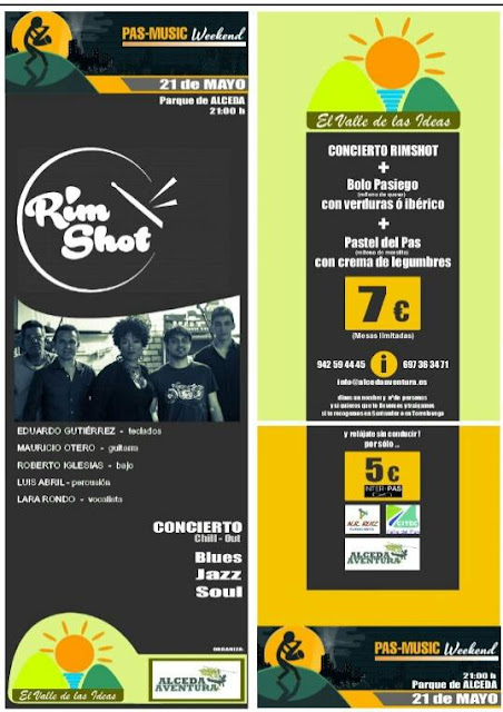 Pas-music weekend en Alceda