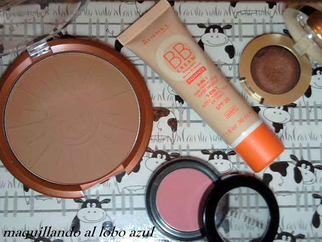 Broncer de Rimmel, BB cream de Rimmel y colorete de Bobbi Brown