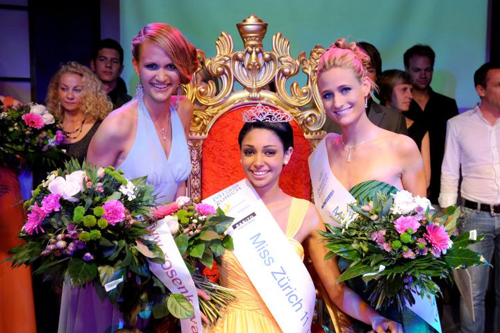Cleo Heuss was crowned Miss Zurich 2011