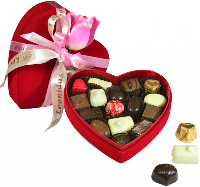 Hjerteformet chokolade box