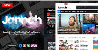 Jannah v1.1.1 Wordpress News Magazine Theme Free