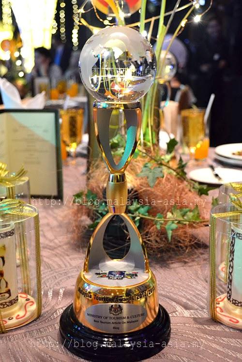 Tourism Malaysia Awards Trophy