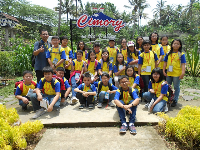 Dokumentasi PPL Kelas 5 SD Kristen Kalam Kudus Surakarta di Susu Cimory
