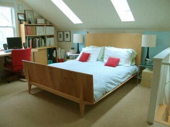 Fresh Decor: Attic Converted To Bedroom Idea