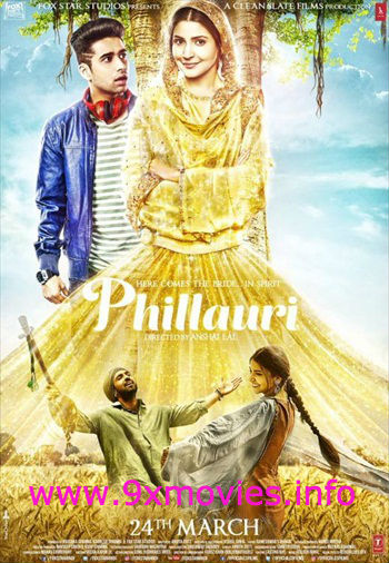 Phillauri 2017 Hindi 720p BluRay 999mb