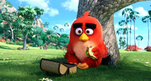 "Red in ""The Angry Birds Movie"""