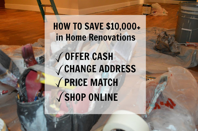 How To Easily Save $10,000 In Home Renovations
