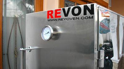 steamer- mesin kukus roti reyoven