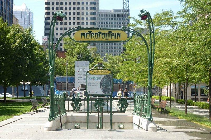 metropolitana Montreal Canada