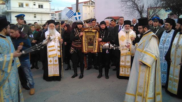 Η εικόνα της Παναγίας Σουμελά στην Ορεστιάδα (photos)