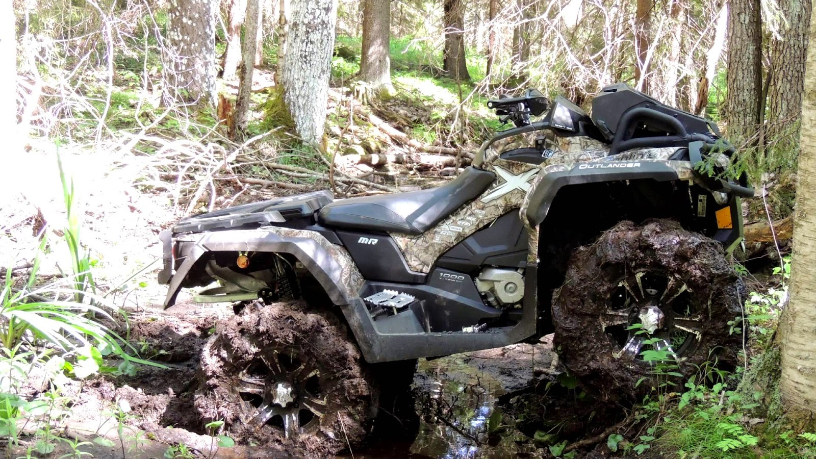 CAN AM OUTLANDER 1000 X MR CAMO