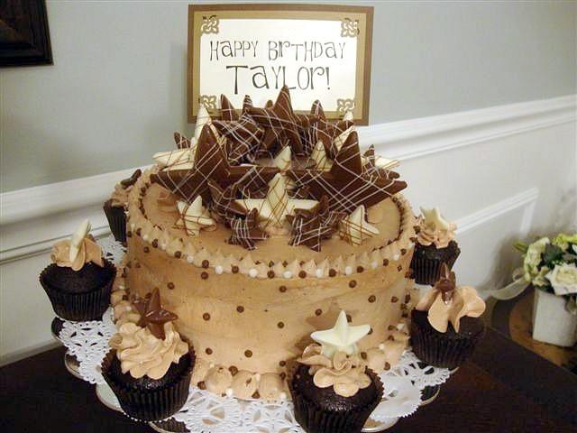 Paige Reese Designer Bakeshop Happy Birthday Taylor