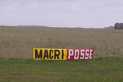 """Macri - Posse"", en la ruta 2"