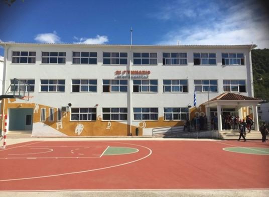 Γιορτή για τη λήξη τη σχολικής χρονιάς, στο 2ο Γυμνάσιο, με αναπαράσταση των Αρχαίων Ολυμπιακών Αγώνων