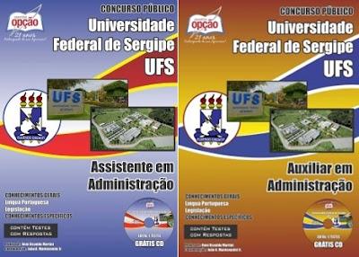 Apostila concurso UFS 2018 Assistente em Administração