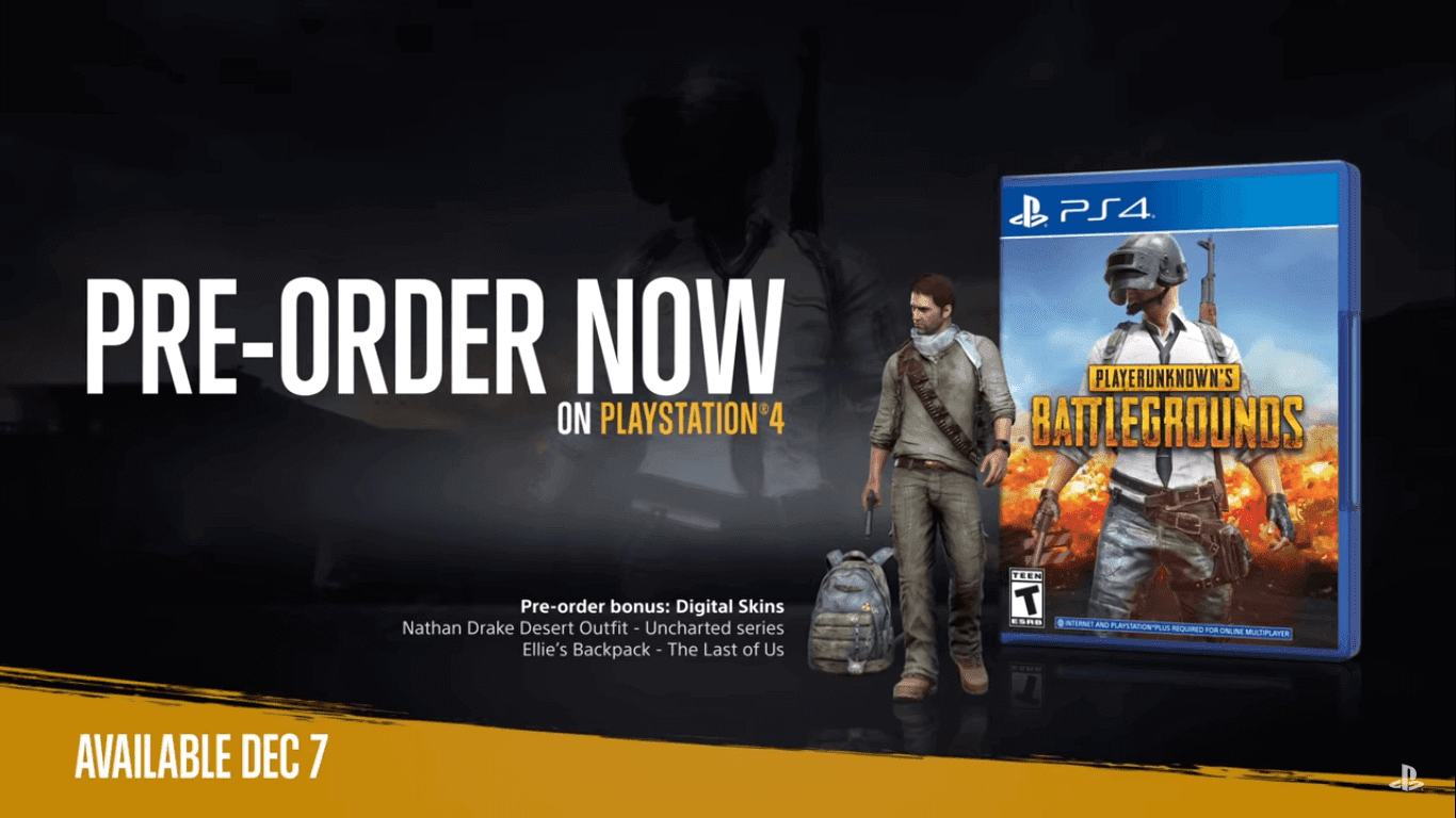 PUBG PS4 Release Date Announced With Maps, Exclusive Skins And Much More