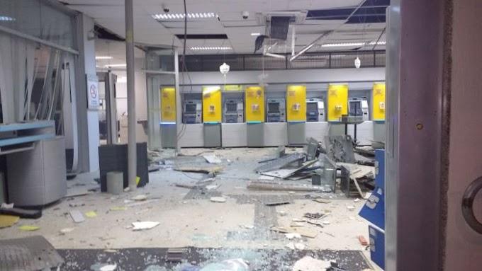 Banco do Brasil da Avenida Mor Gouveia é explodido por quadrilha especializada