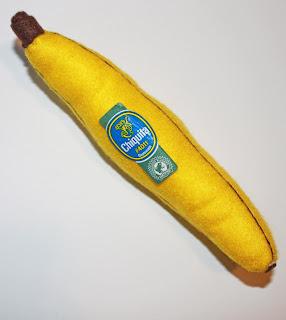 banana de feltro