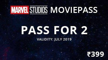 Paytm Marvel movie pass for 2 persons