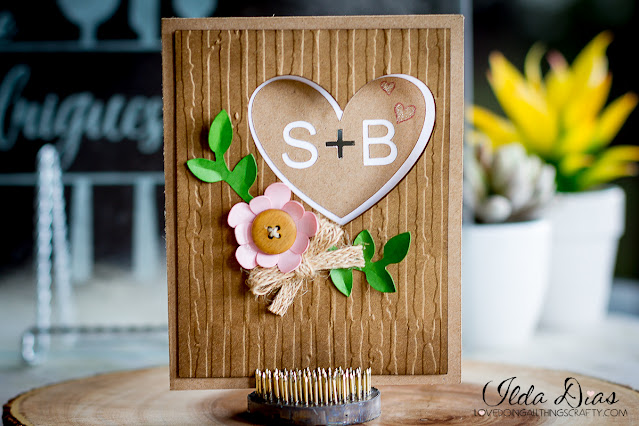 #SVGCuts,Silhouette Cameo,Woodsy,ilovedoingallthingscrafty,Wedding card,Simple,