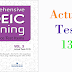 Listening Comprehensive TOEIC Training - Actual Test 13