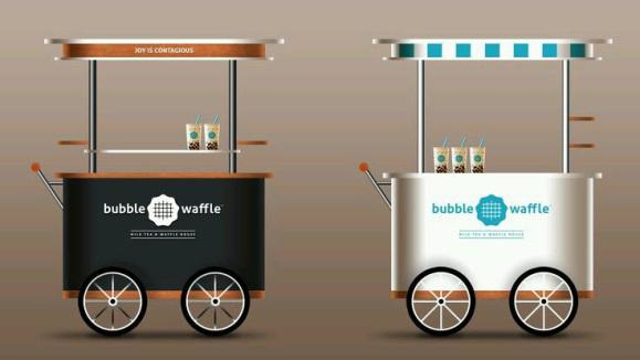 booth stand design, stand booth makanan, rombong unik malang